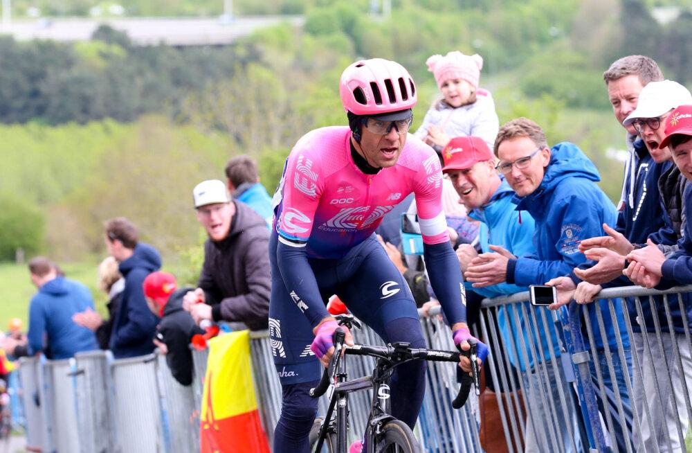 Suurepärane sõit: Tanel Kangert lõpetas Giro etapi viiendal kohal
