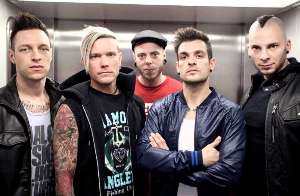 Шведы Dead By Aprill выступят в Rock Cafe уже в это воскресенье!