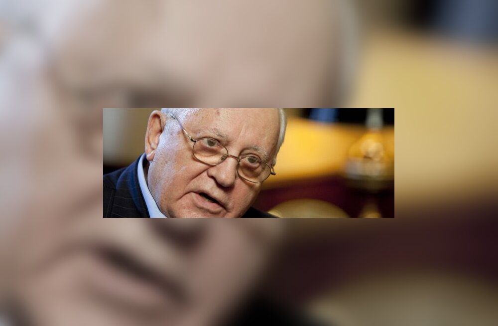 Mihhail Gorbatšov üllitas plaadi oma lauludega