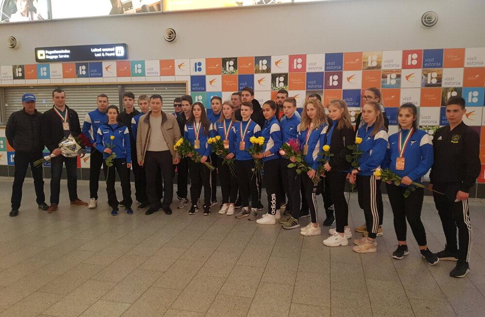 Eesti sportlased tõid taekwondo EM-ilt kaks kuldmedalit