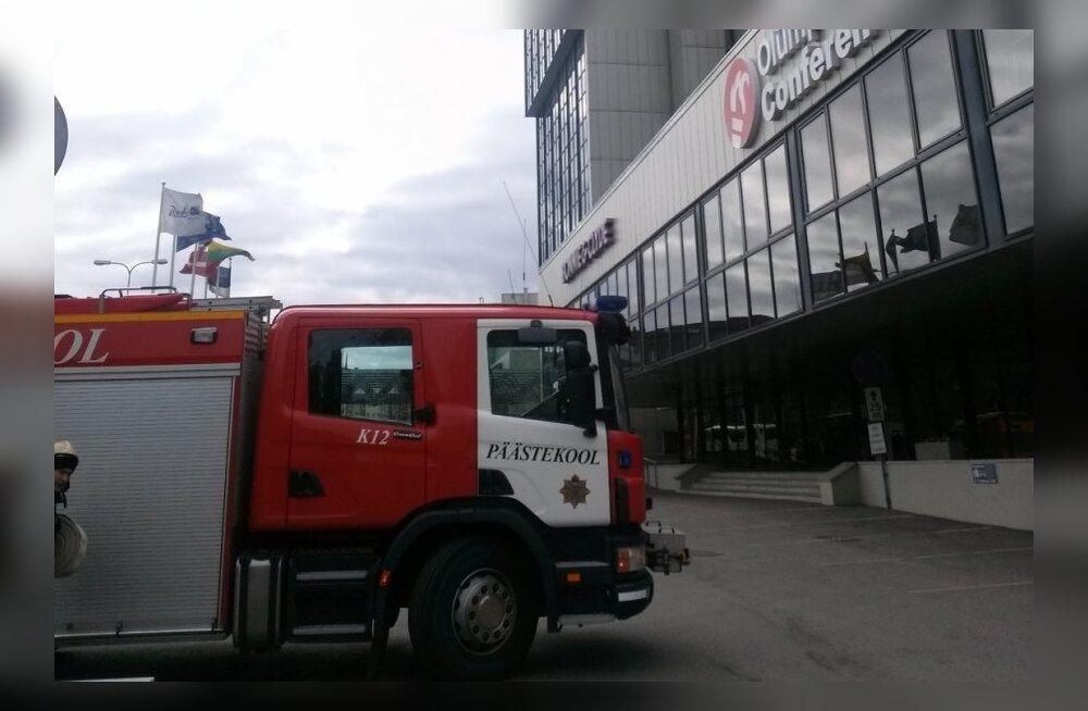 Tuletõrje- ja evakuatsiooniõppus Radisson Blu Hotel Olümpias