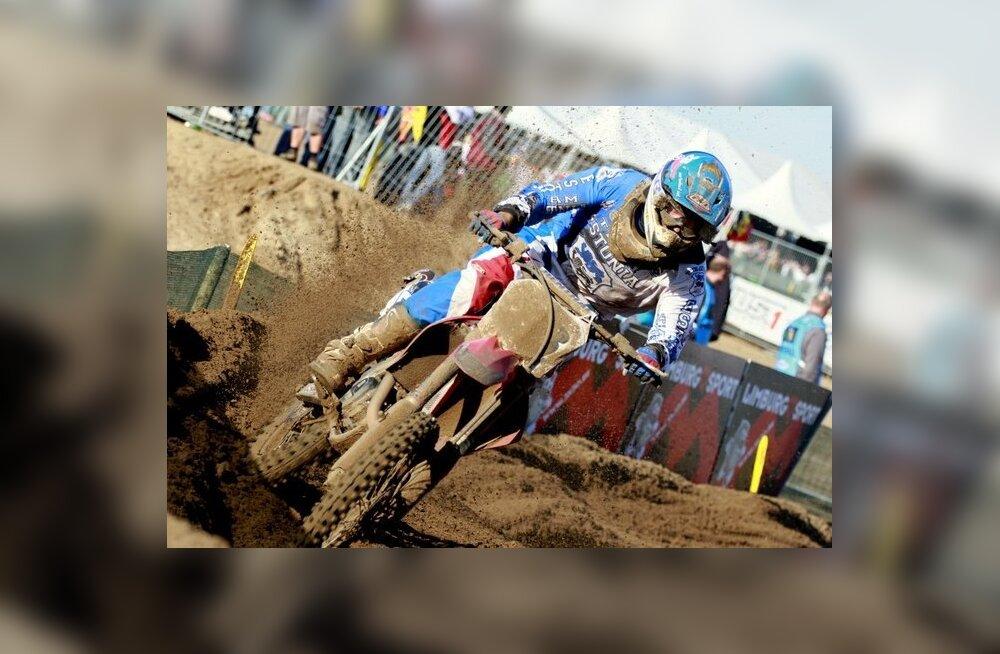 Motokrossi meistrivõistluste finaalis stardib ka Gert Krestinov