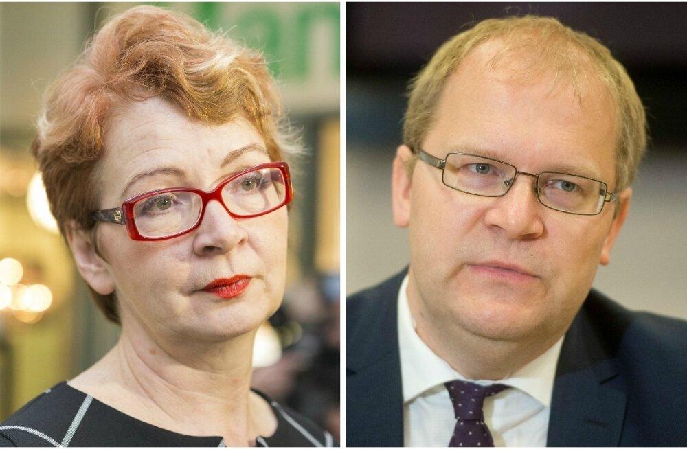 Yana Toom ja Urmas Paet