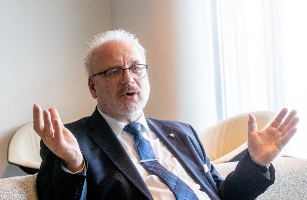 Президент Латвии выразил руководителю ПАСЕ недоумение в связи с решением вернуть Россию