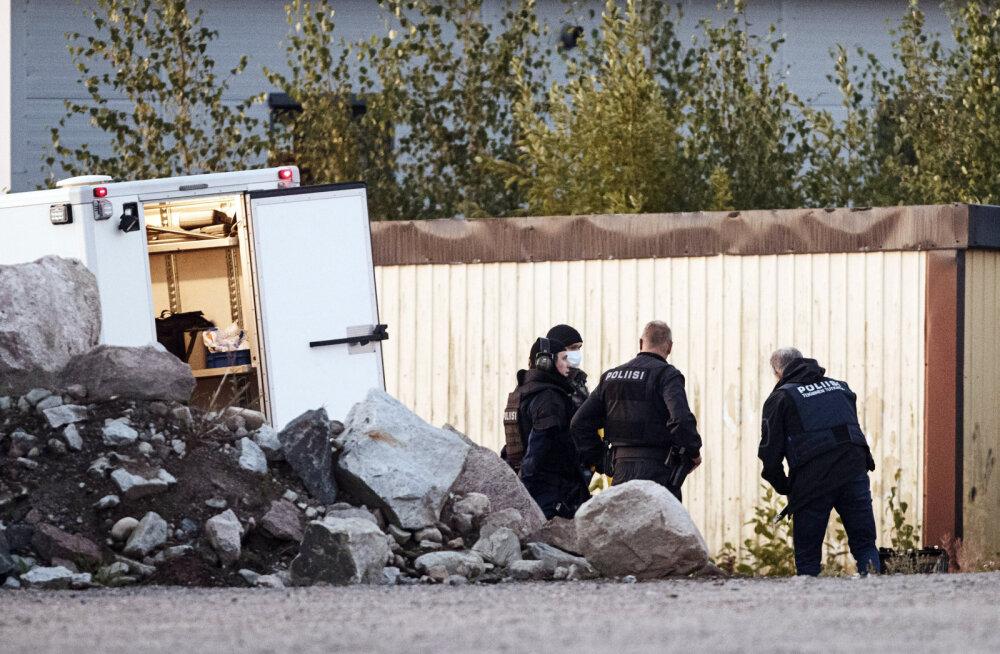 Soome politseinike tulistamises Porvoos kahtlustatakse kaht Rootsi kodanikku