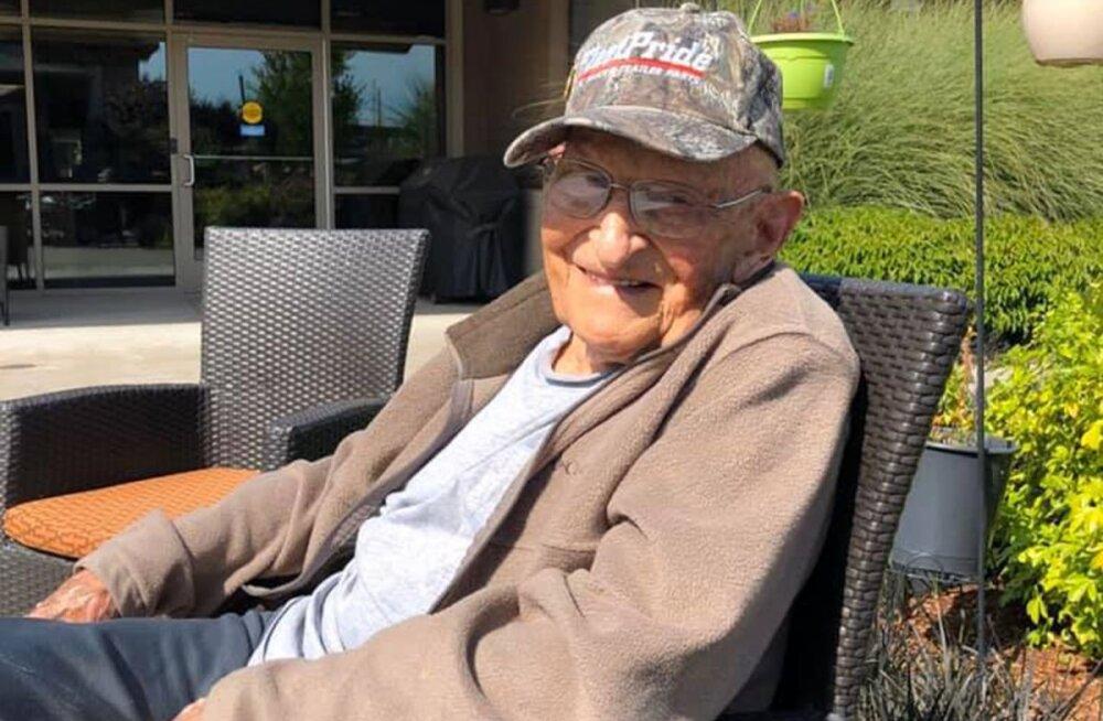 """""""Tal hakkas järsku parem."""" 104-aastane veteran tervenes koroonaviirusest vahetult enne oma sünnipäeva"""