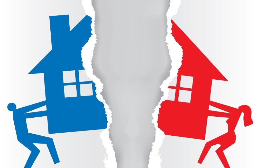 """""""Когда строите вместе с супругом общий дом, прикрывайте свой тыл!"""" Житель Эстонии остался после развода на улице"""