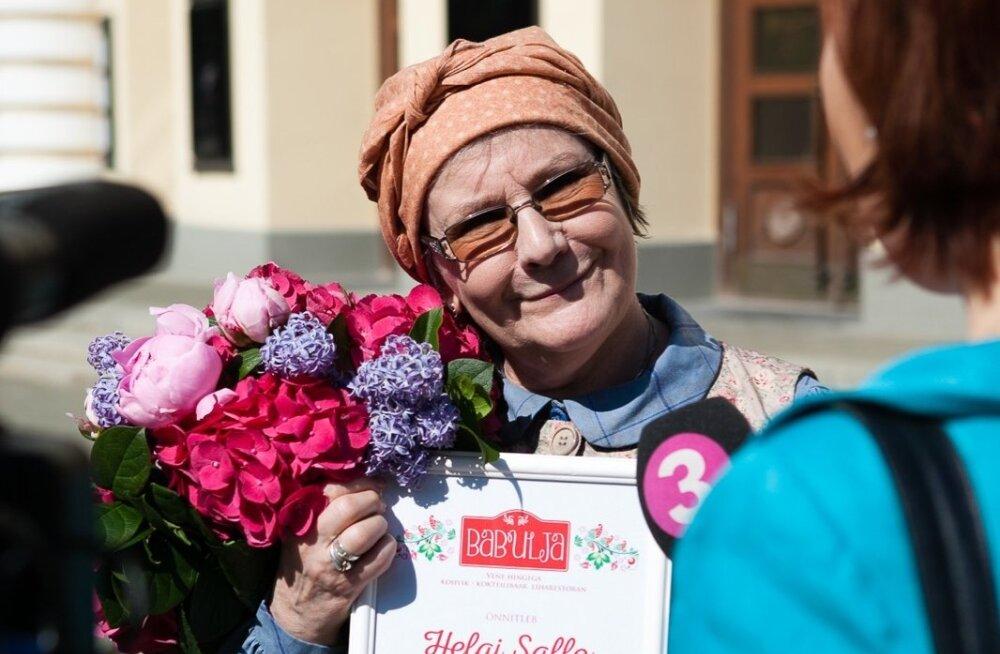 Helgi Sallo valiti Parimaks Vanaemaks