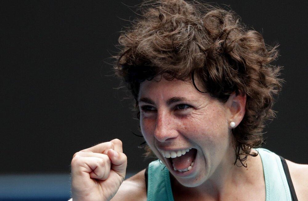 VIDEO | Carla Suarez Navarro: Kontaveit mängis hästi, võit tuli väga raskelt