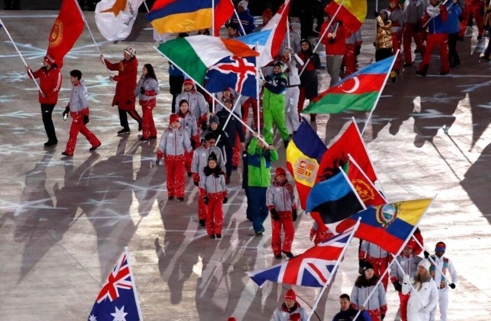 Pyeongchangi taliolümpiamängude lõpetamine. Tähelepanuväärne on, et veebruari top 10 vaadatuimate telesaadete hulka ei tõusnud ükski ülekanne Pyeongchangi taliolümpialt, mille tõid Eesti vaatajateni Kanal 2 ja Kanal 12.