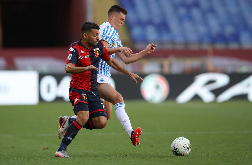 Tunjov pääses suure Milano Interi vastu platsile, tema koduklubi seis muutub üha lootusetumaks