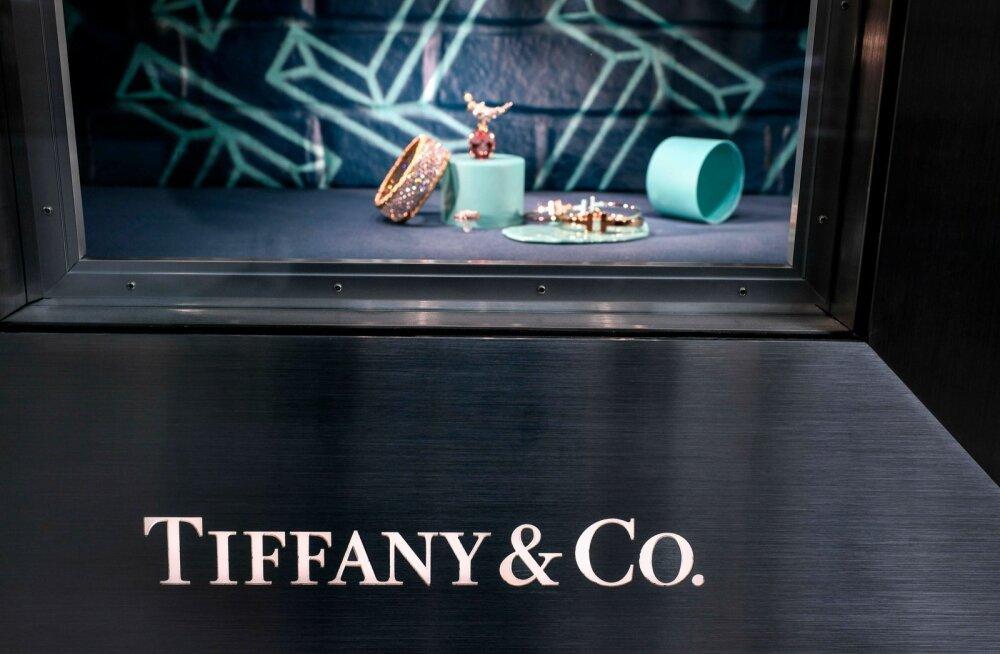 Tiffany kauplus Pariisis.