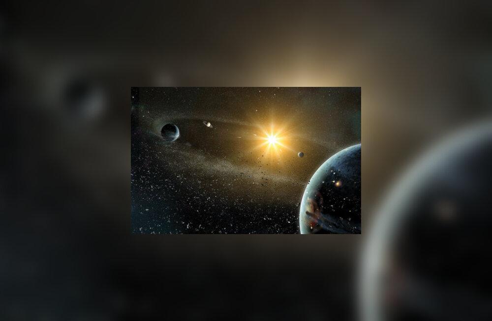 Osa Päikesesüsteemi veest pärineb tähtedevahelisest ruumist