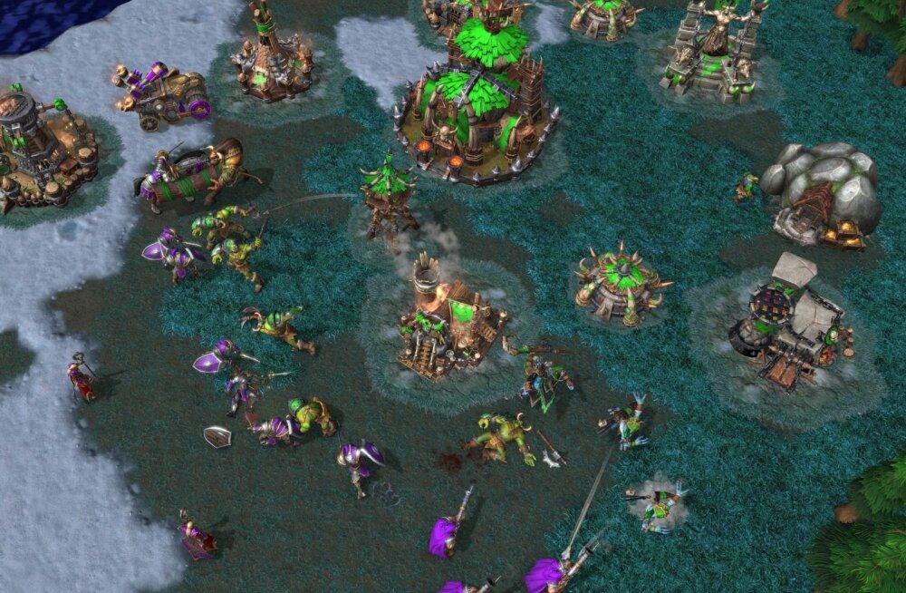 """""""Puhata ja mängida"""": Warcraft 3 uusversioon pole päris see, mis me tahtsime"""