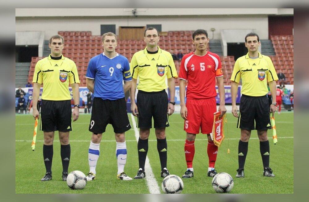 U-21 jalgpallikoondis Peterburis
