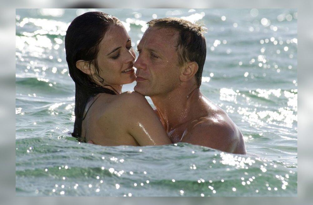 Kellega ja kus maailmarändurist spioon Bond maganud on? Tulemused on üllatavad!