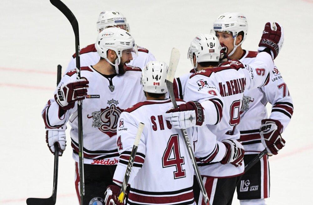 Heas hoos Riia Dünamo alistas KHL-is võõrsil Hiina klubi