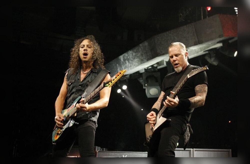 VIDEO: Vaata, kuidas Metallica end enne kontserti sisse mängib!
