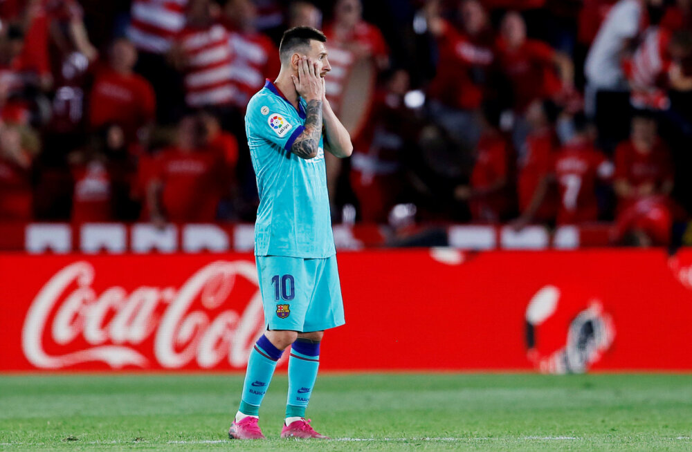 Barcelona sai La Ligas šokk-kaotuse, meistrivõistlustel on üllatusliider
