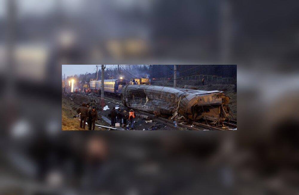 Õnnetusse sattunud rongist leiti heroiini