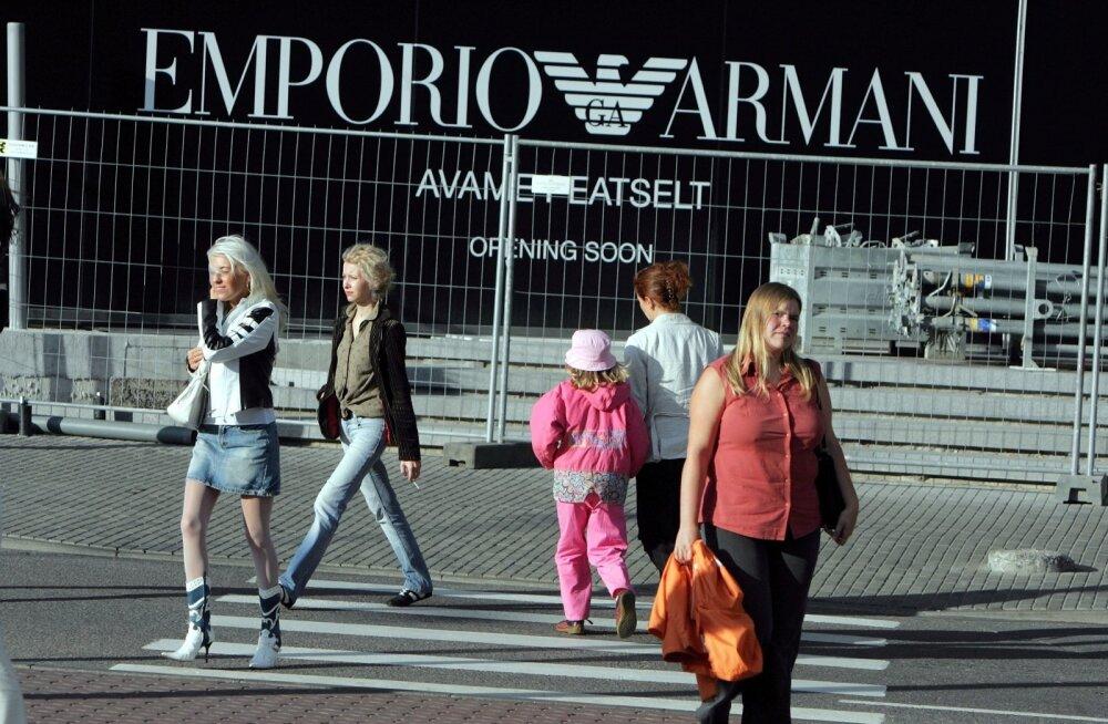 500-eurone Armani kleit venis pärast kaht kandmiskorda välja ja läks topiliseks