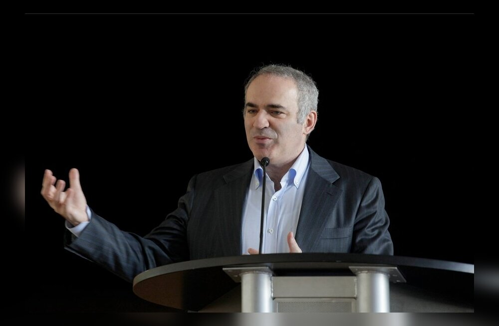 "Garry Kasparov avalik loeng ""Role of chess in education"""