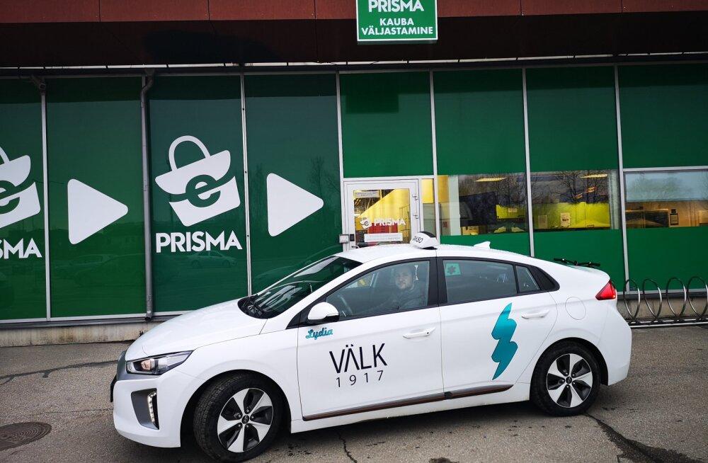 Prisma стала первой розничной сетью в Тарту, предлагающей услугу доставки товаров на дом