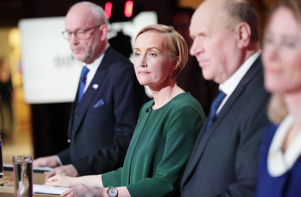 ETV suurel valimisdebatil sai enim sõna Jüri Ratas, vähim Kristina Kallas