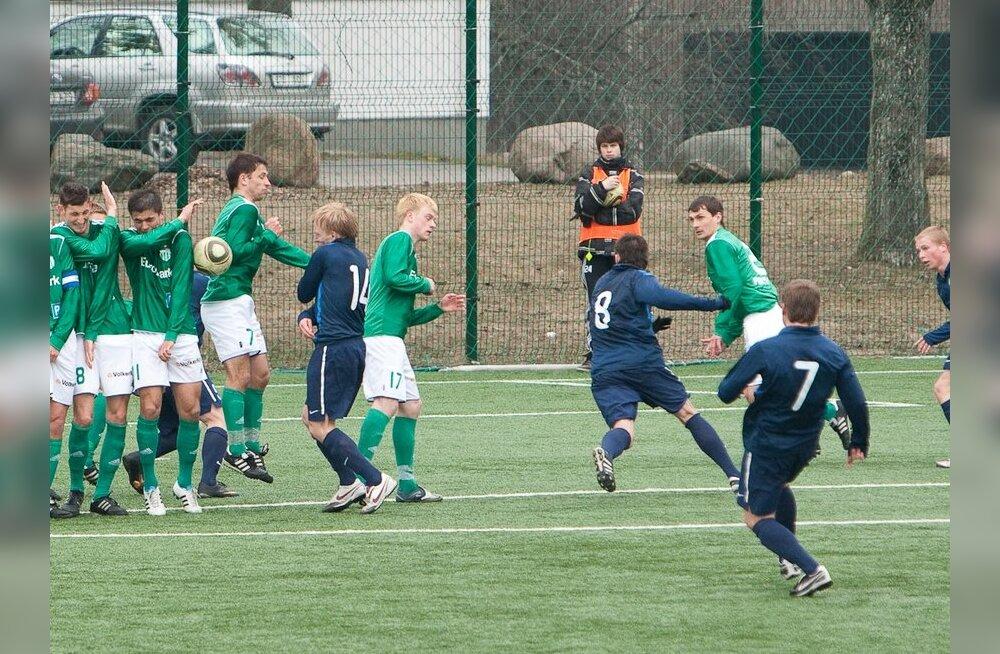 FC Levadia - Narva Trans, jalgpall