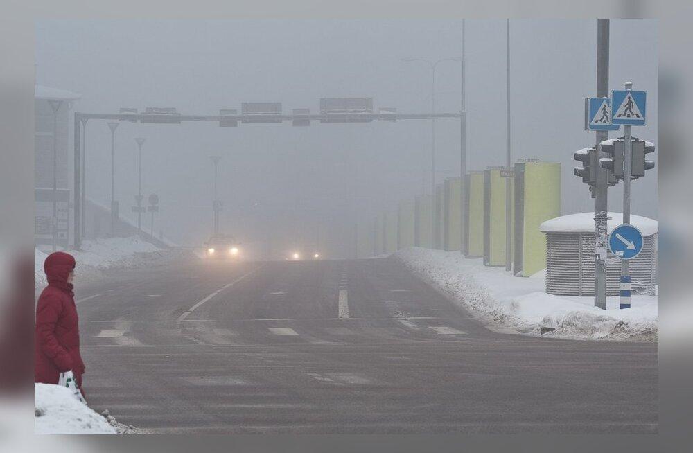 Maanteeamet hoiatab: hommikune udu piirab nähtavust