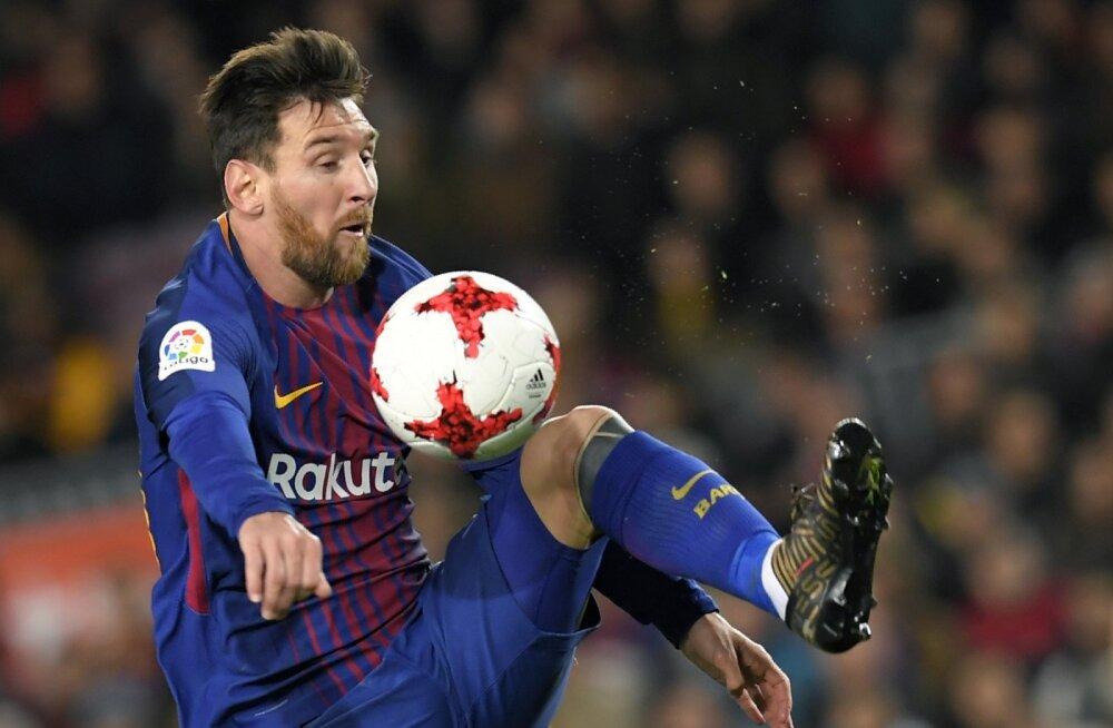 FOTO LEPINGUST | Häkkerid avaldasid, et Lionel Messile makstakse koguni 40% Barcelona palgafondist