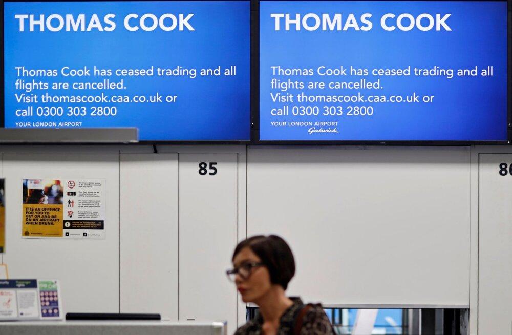 FOTOD | Miks Thomas Cook hävis?