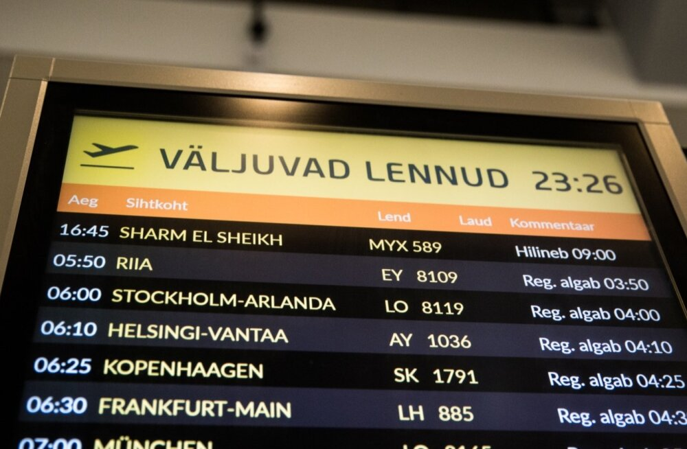 Ärajäänud lennureis Sharm el Sheikhi