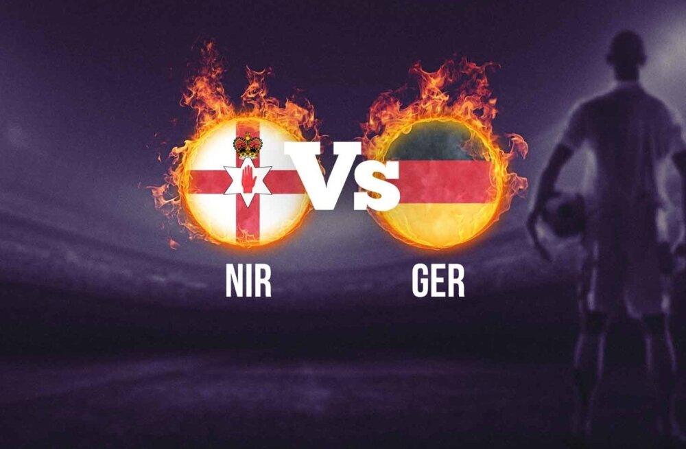 Saksamaa - Põhja-Iirimaa