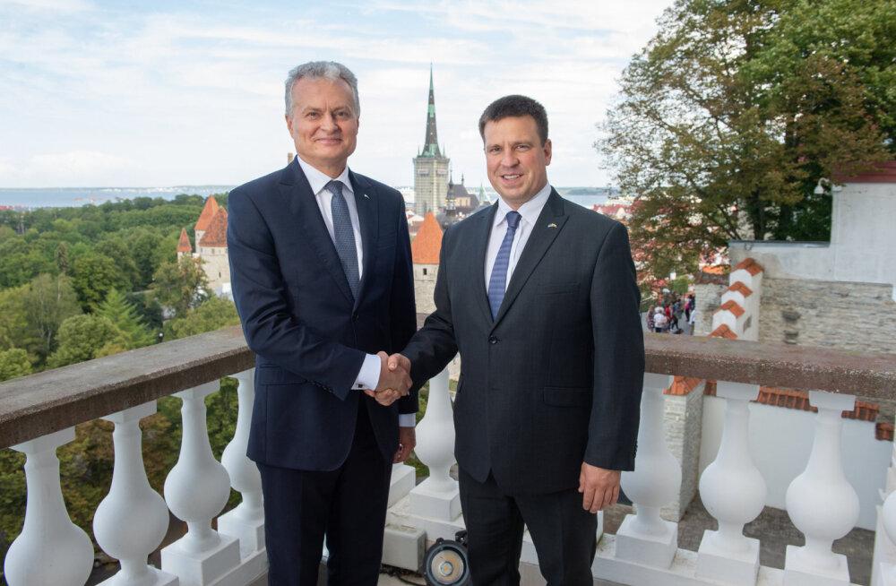 Премьер-министры Эстонии и Литвы обсудили вопрос Белорусской АЭС
