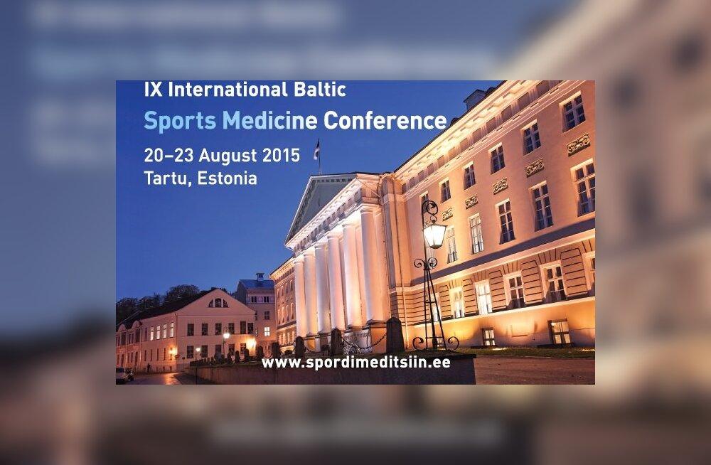 Rahvusvaheline spordimeditsiinikonverents toob Tartusse kokku üle 300 erialaeksperdi