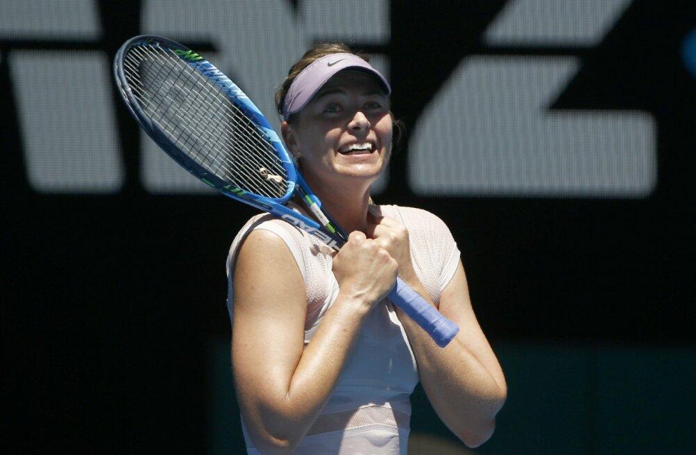 Šarapova eemaldas ühe lätlanna konkurentsist, Ostapenko väsitas end paarismängus