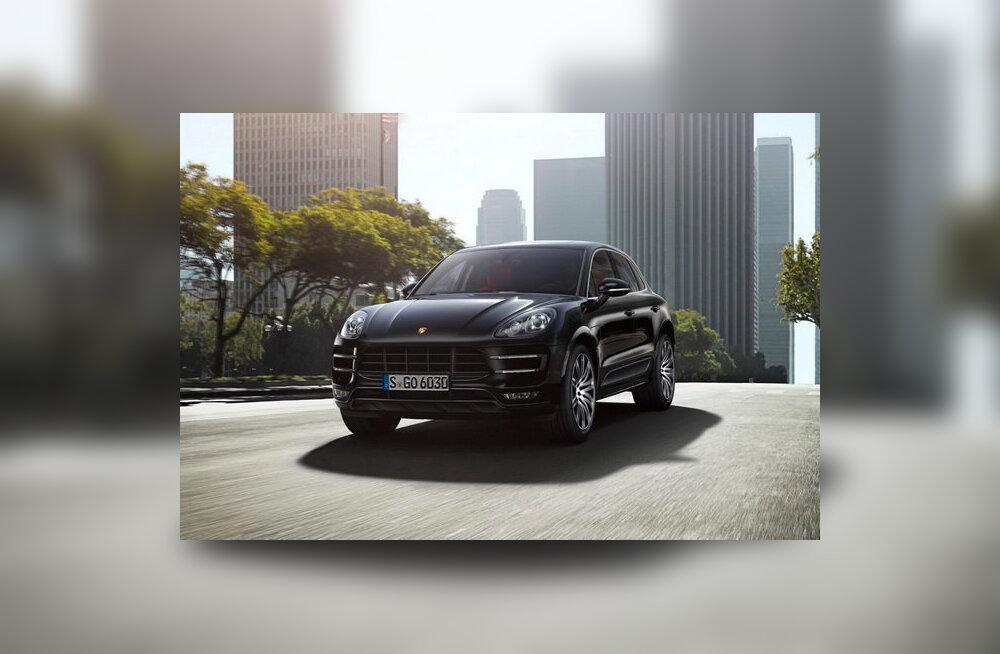 Porsche avaldas väikese krossoveri Macan