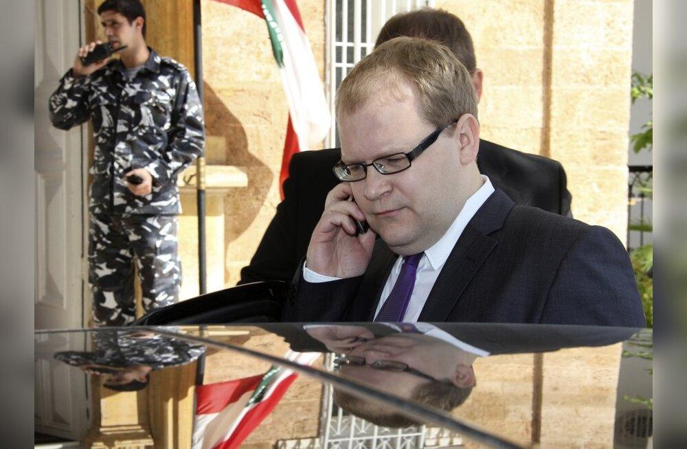Paet helistas röövitud eestlaste asjus Süüria kolleegile