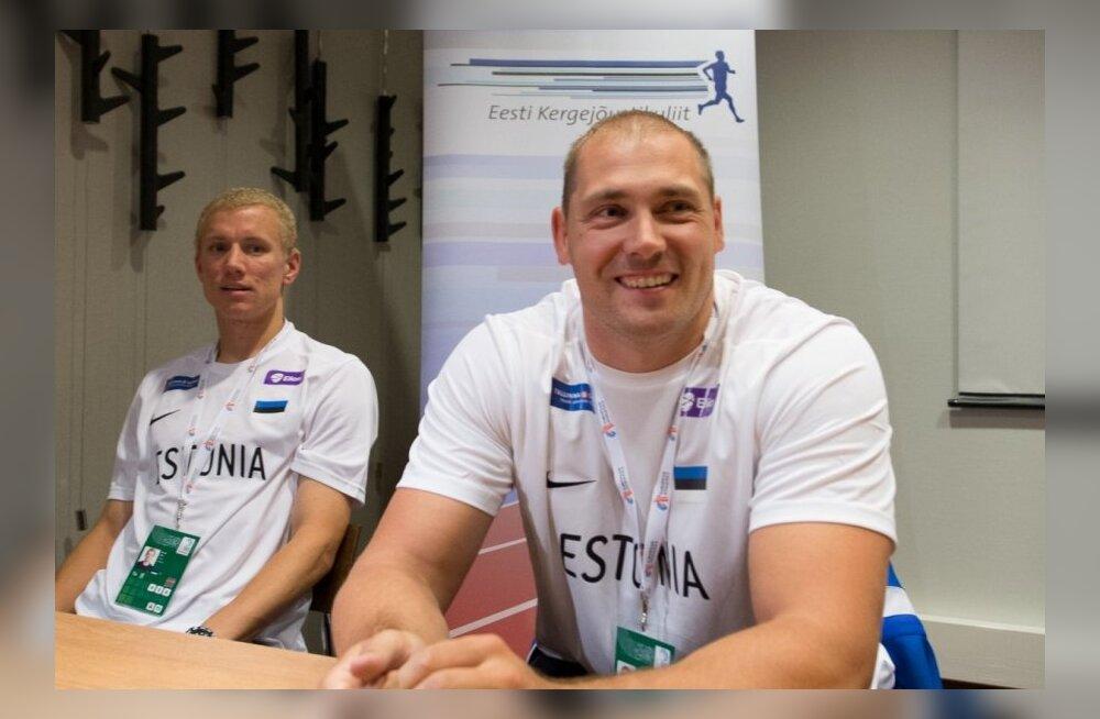 FOTOD: Eesti suurimad medalilootused olid võistluste eel heas tujus