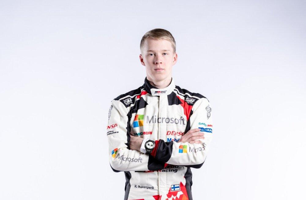 Kalle Rovanperä, Toyota mees