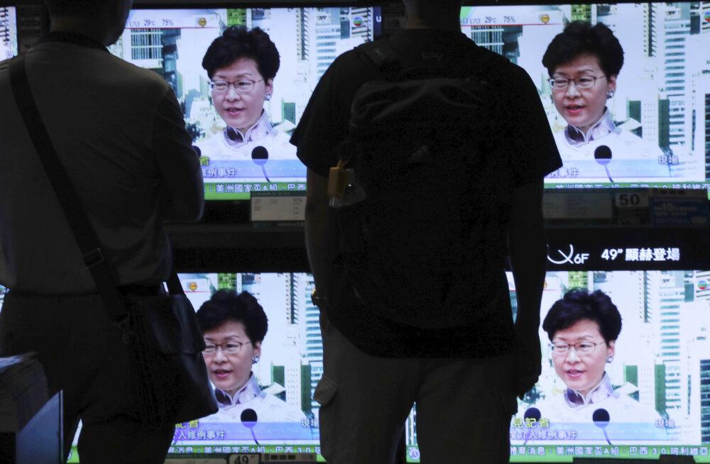 Hongkongi juhil tuli Hiina pika ninaga jätta