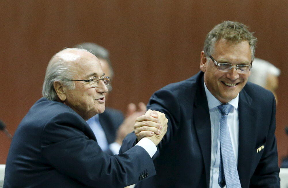 Korruptsiooniskandaali jätk: Sepp Blatteri parem käsi on suure supi sees