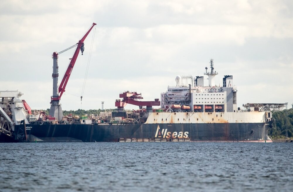 Laev Solitaire Muuga sadamas