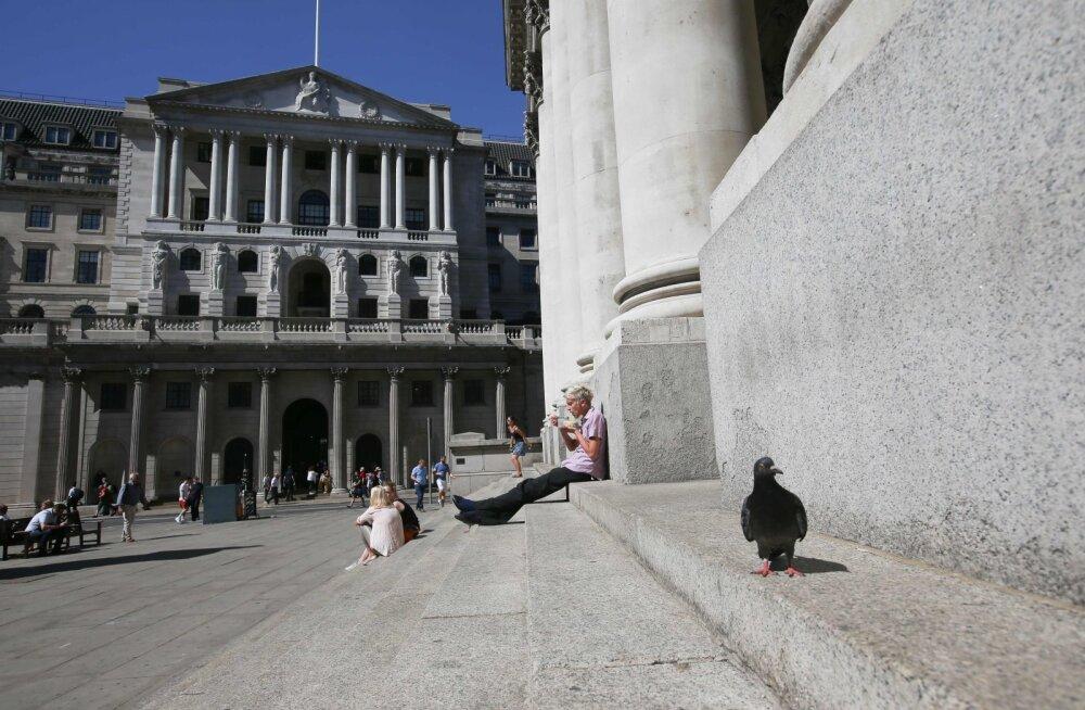 Briti keskpanga juht hoiatas kokkuleppeta Brexiti eest