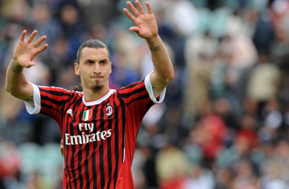Ajaleht: Zlatan Ibrahimovic taasliitub AC Milaniga
