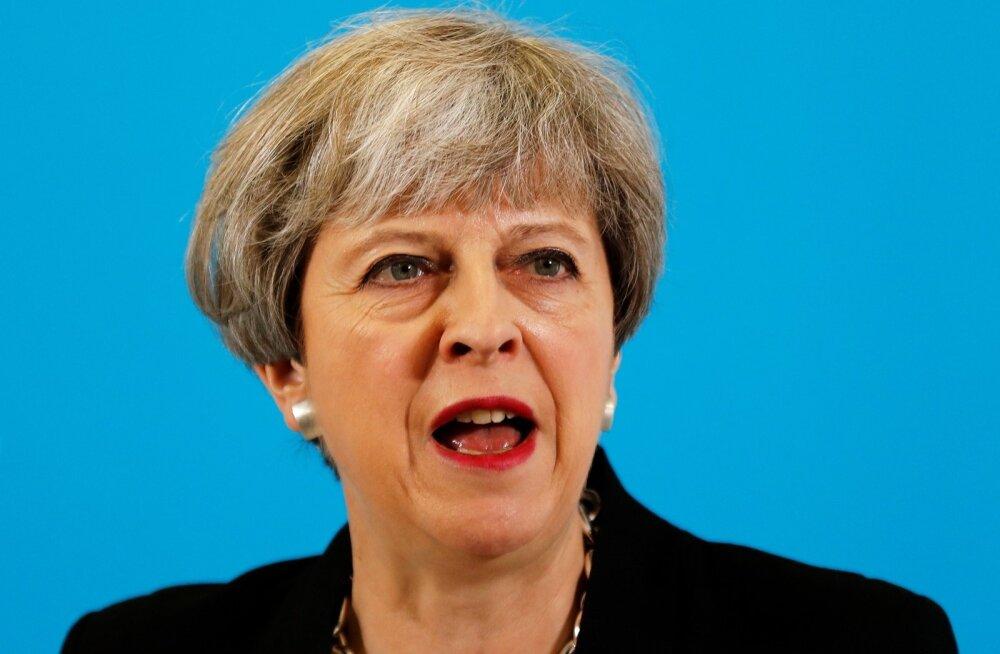 Briti peaminister May lubas luureandmete jagamist USA-ga jätkata