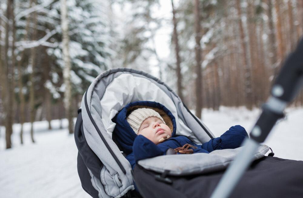 c36bca5dcc2 Sinu laps on harjunud õues magama, kuid nüüd on ilmad külmad — need on asjad