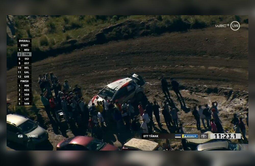 BLOGI | Ott Tänak pidi Argentina ralli ootamatult katkestama!