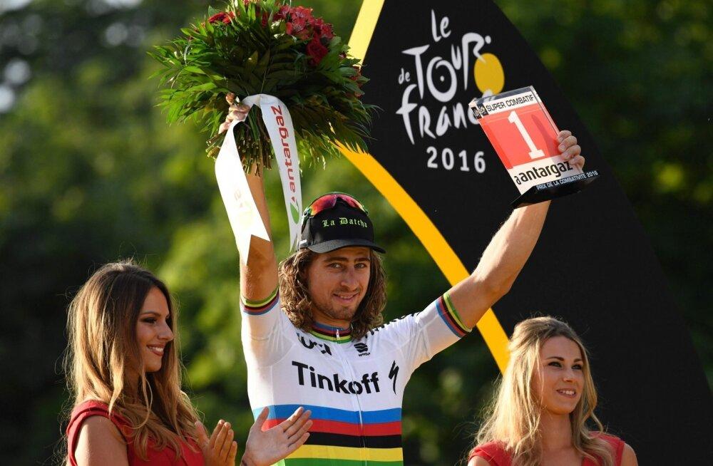 Tour de France´i võitluslikum rattur Peter Sagan
